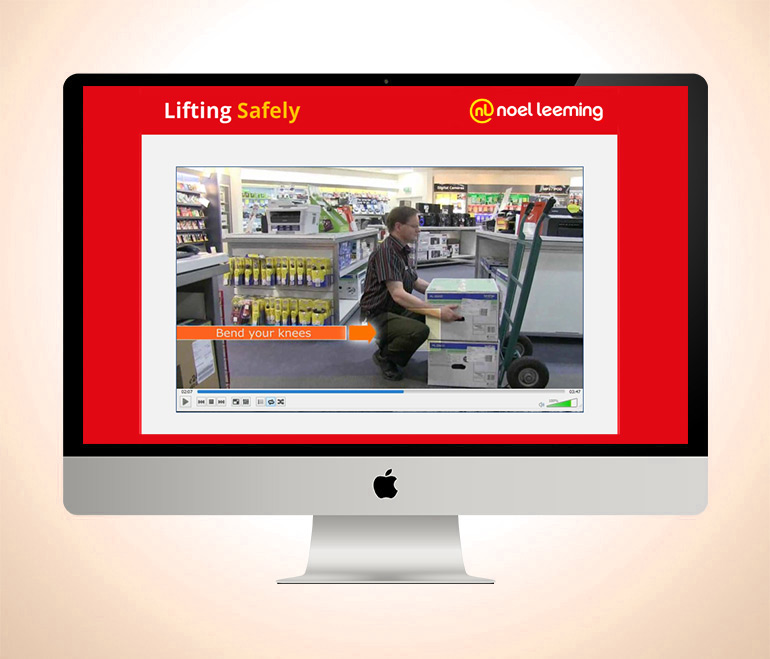 Health  Safety Manual Handling  Noel Leeming Group  Learning Tech